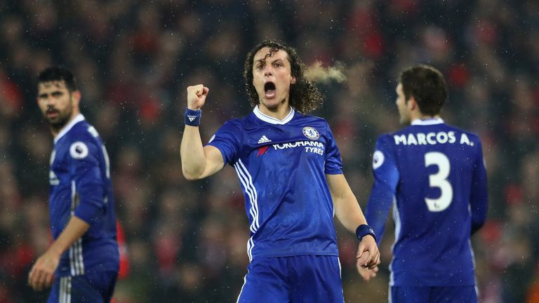 David Luiz has established himself at the heart of Chelsea's back three