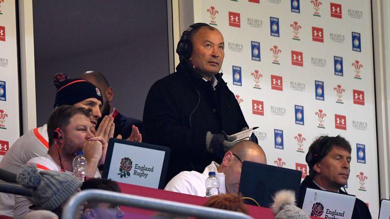 "Eddie Jones praised Wales for ""a great game of test rugby"""