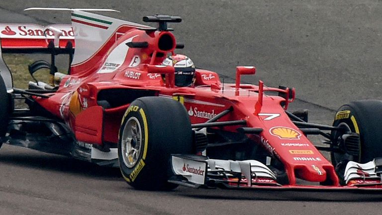 After Being Unveiled On Friday Morning The Sf70 H Then Hit Track At