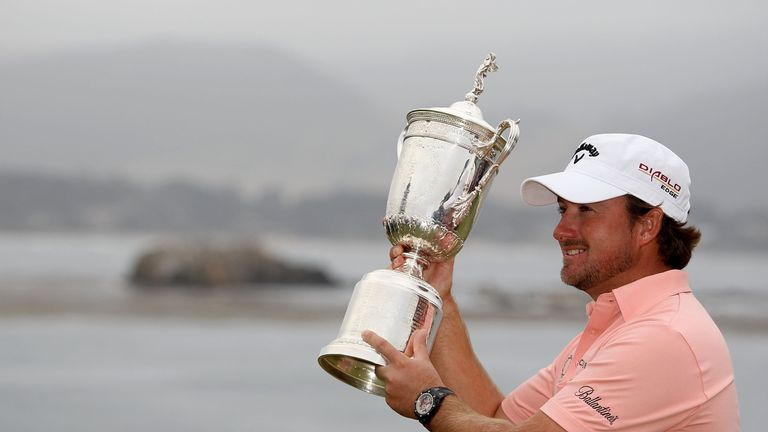 McDowell said he had realised a dream with his first major victory