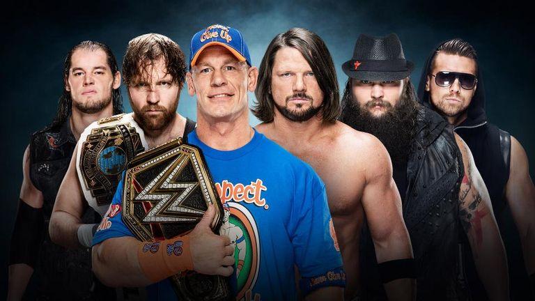 John Cena will face five foes inside the Elimination Chamber