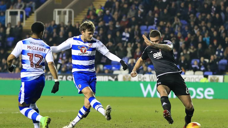 Former Chelsea youngster John Swift in action for Reading