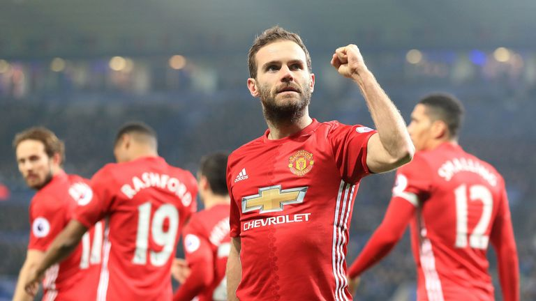 Juan Mata's goal made sure of the three points