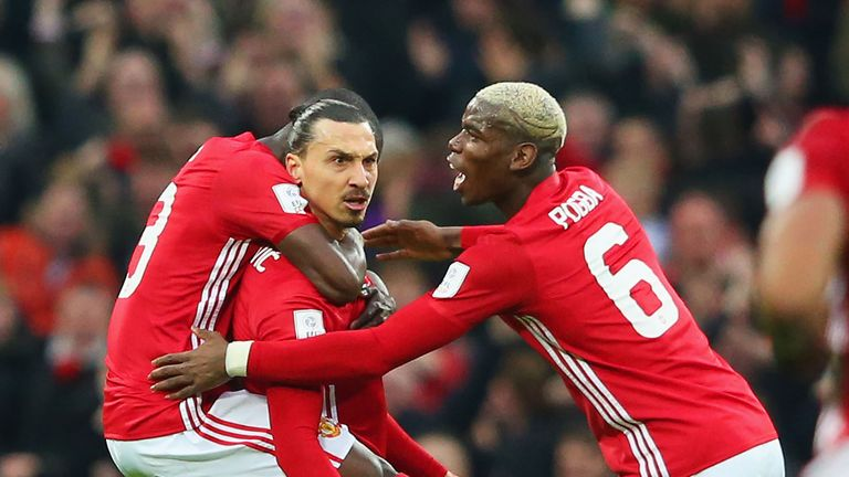 Zlatan Ibrahimovic is still a leader in the Manchester United team, says Paul Pogba