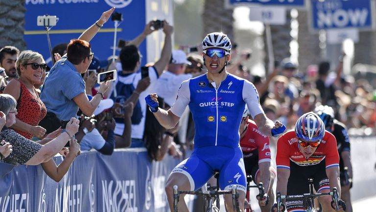 Marcel Kittel proved the dominant sprinter as he retained his Dubai Tour title