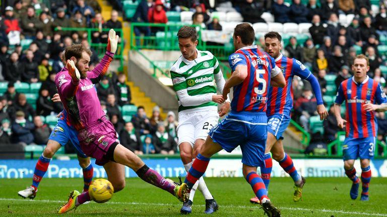 Mikael Lustig got Celtic underway before Dembele took over