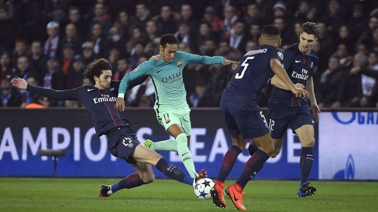Rabiot shuts down another Neymar attack