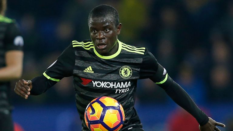 Kante's all-action displays have inspired Chelsea's title charge