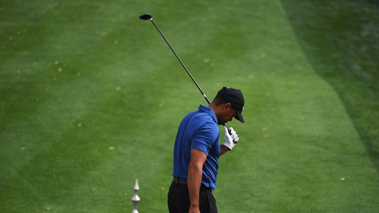 Woods missed the cut in San Diego and withdrew after one round in Dubai