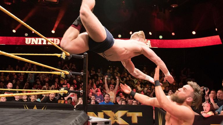 6baf91ab0228 Trent Seven   It was an honor to wrestle Tyler Bate on WWE NXT ...