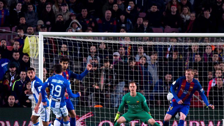 Unai Lopez scored Leganes' equaliser