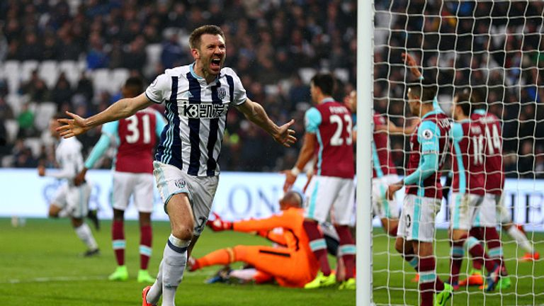West Brom are unbeaten in their last four Premier League games