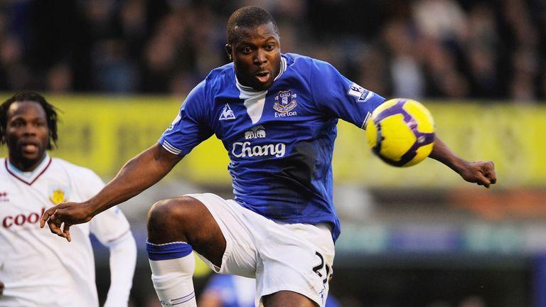 Yakubu spent four years at Everton
