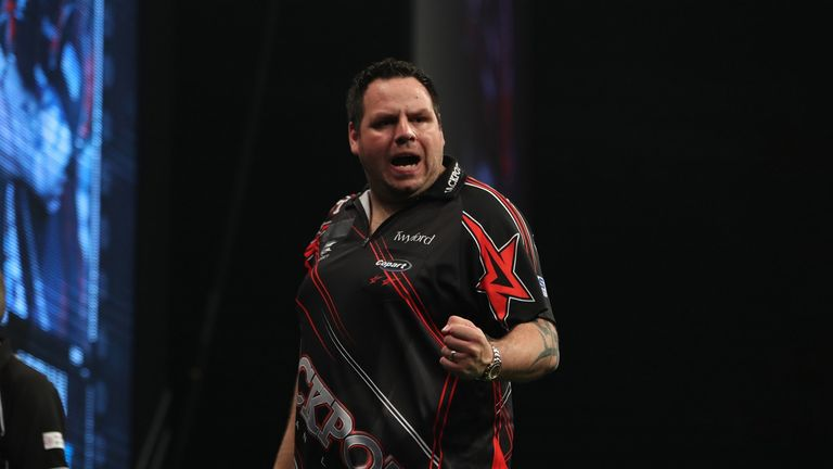 Adrian Lewis beat Dave Chisnall 6-2 to win Players Championship Five