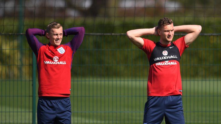 Ben Gibson on England duty