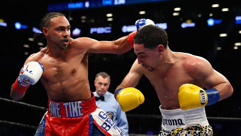 Thurman took the WBC belt from Garcia in 2017