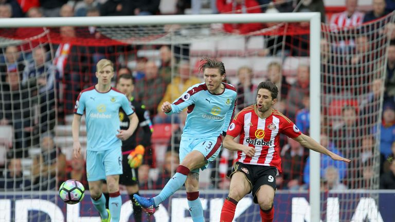 Burnley secured only their third away point with a battling display on Wearside