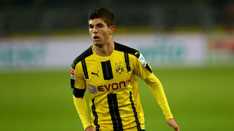 Christian Pulisic was reportedly not close to joining Liverpool in the summer