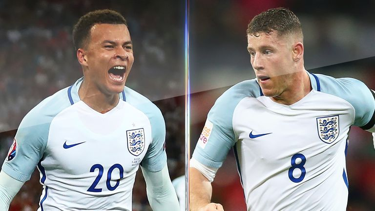 England team-mates Dele Alli and Ross Barkley clash in the Premier League on Sunday