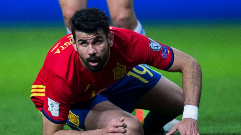 Will Diego Costa start for Spain?