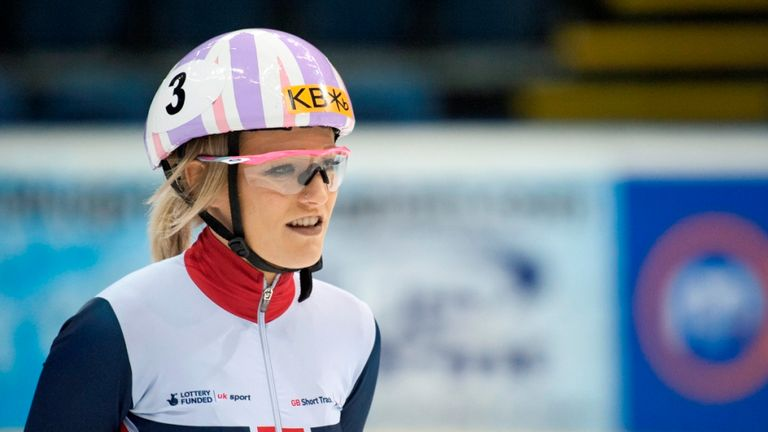 Elise Christie is in good shape to shine in Rotterdam this weekend