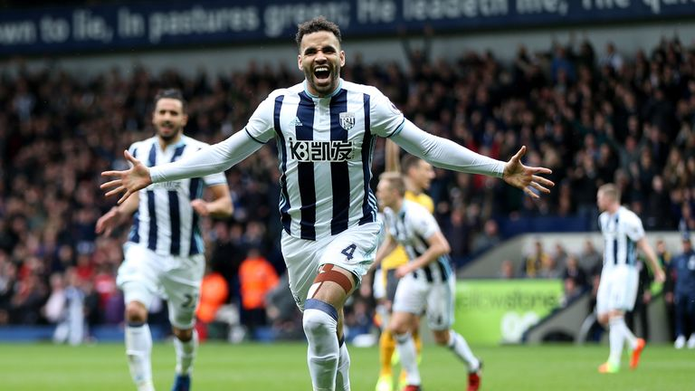 Hal Robson-Kanu scored seconds after coming on as a substitute to put West Brom 2-1 up