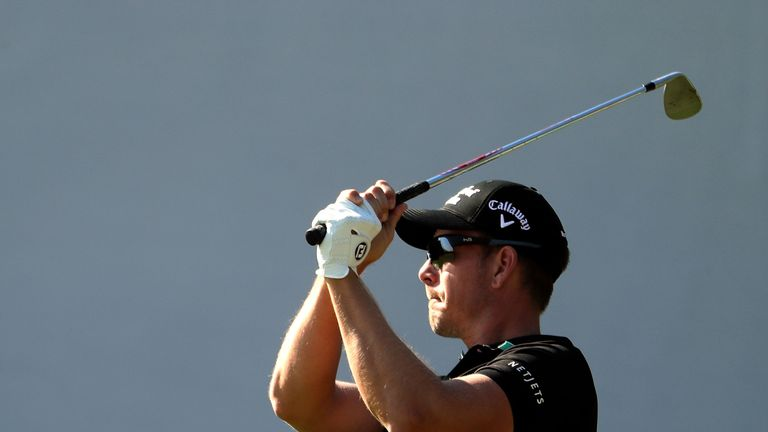 Stenson is still not 100 per cent after contracting a stomach virus in Mexico