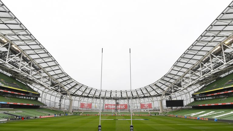 Ireland are hoping to host the 2023 Rugby World Cup