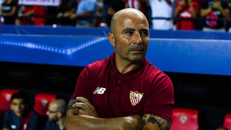 Jorge Sampaoli has led Sevilla to third in La Liga