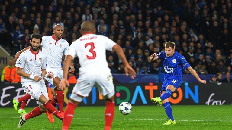 Albrighton drills Leicester's second beyond Sergio Rico