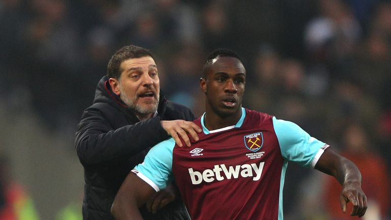 Antonio injured his hamstring against Swansea last time out