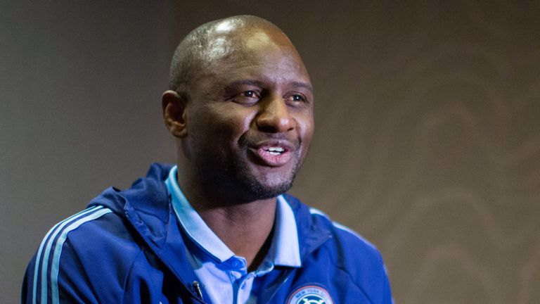 Vieira currently manages New York City FC, after coaching at Manchester City
