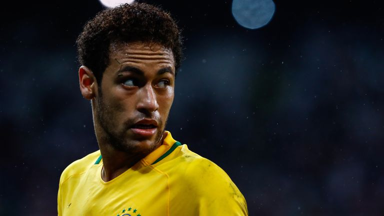 Neymar's Brazil will be at the World Cup