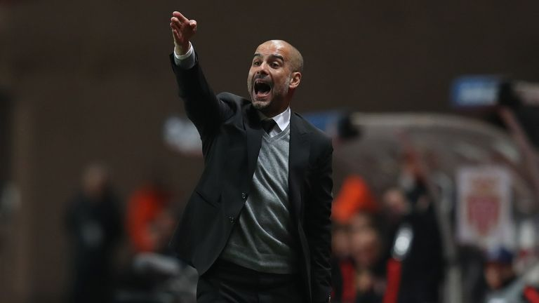 Guardiola has failed to reach the Champions League semi-finals for the first time in his career