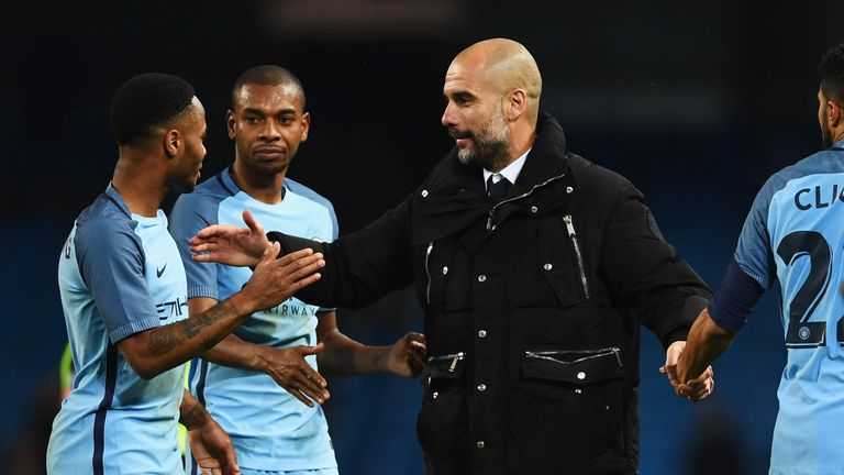 Pep Guardiola has started Raheem Sterling in 23 of City's 27 league games this season