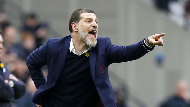 West Ham said earlier this month that they had '100 per cent' faith in manager Slaven Bilic