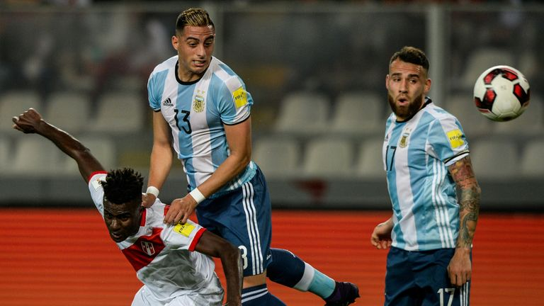 Funes Mori suffered the injury while playing for Argentina