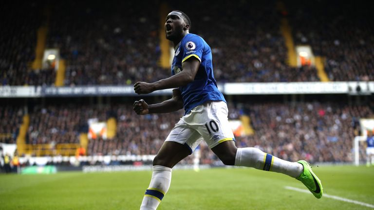 The Everton striker is the Premier League's joint-top scorer this season alongside Harry Kane