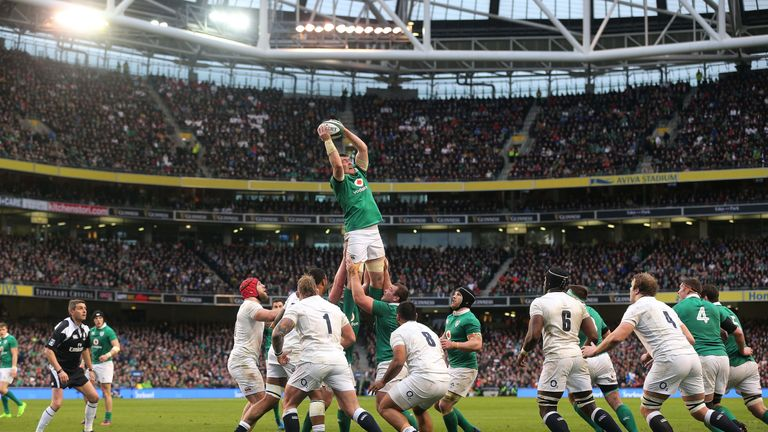 Peter O'Mahony excelled in the lineout