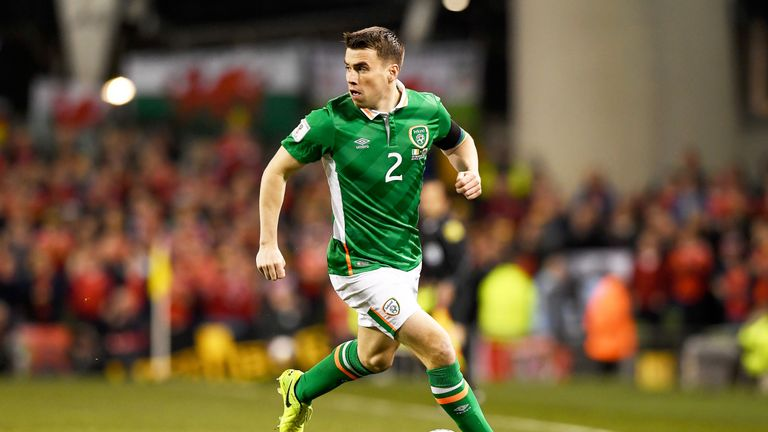 Coleman is Ireland captain and has 47 caps for his country