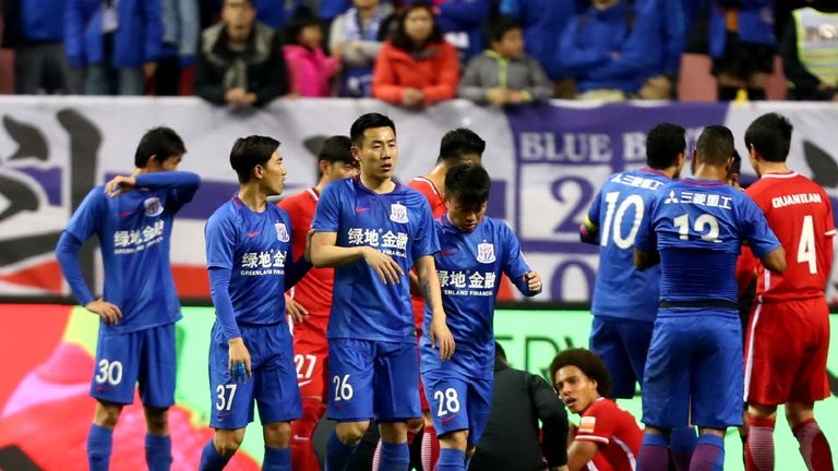 Qin Sheng (No 26) has been banned for six months