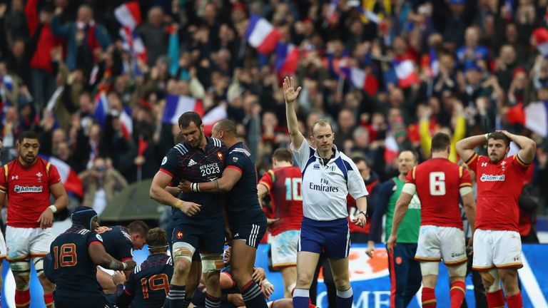 France scored a 100th-minute try to defeat Wales