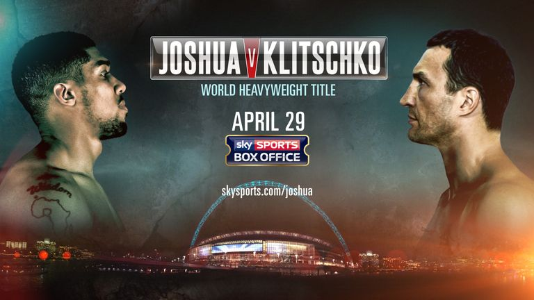 Image result for Anthony Joshua vs Wladimir Klitschko live pic logo