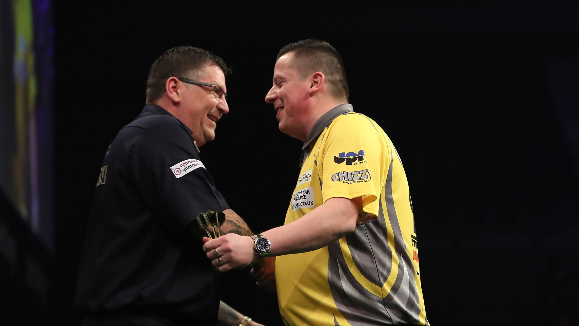 Anderson, Chisnall chase Home Tour glory