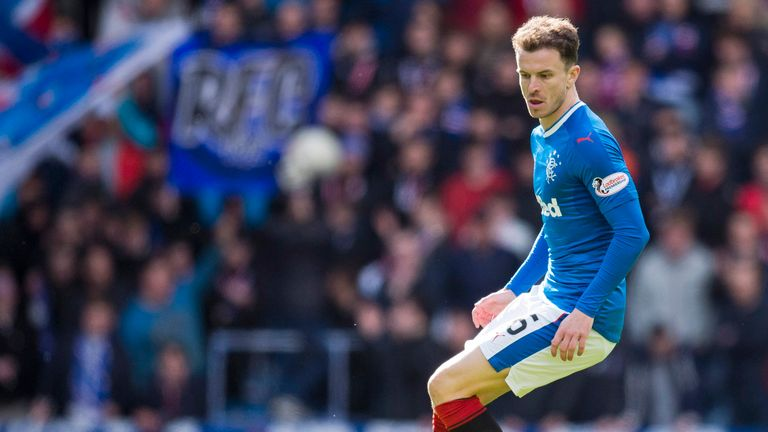 Andy Halliday helped Rangers beat Partick 2-0 on Saturday to maintain Pedro Caixinha's unbeaten start as manager