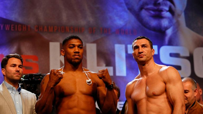 Anthony Joshua and Wladimir Klitschko could meet again at the T-Mobile Arena