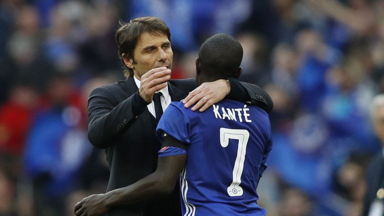 Kante has been vital for Antonio Conte's Chelsea side