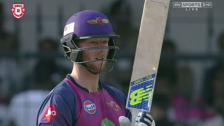 Stokes signed a £1.7m deal with Rising Pune Supergiant last year