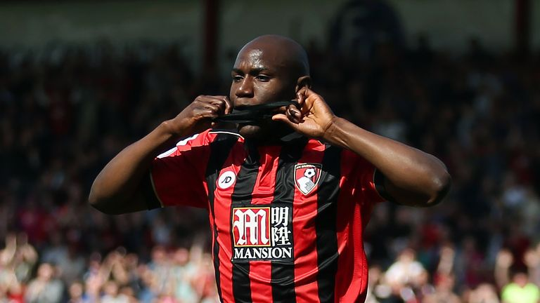 Benik Afobe has scored 11 goals in 70 appearances for Bournemouth