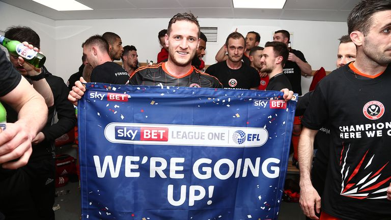 Billy Sharp has been at the forefront of the Blades' title-winning season